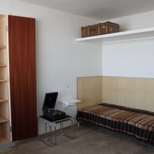 Bauhaus bedroom, Dessau, Germany