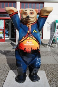 Captain of Köpenick bear, Berlin, Germany