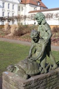 Sculpture, Schloss Köpenick, Berlin, Germany