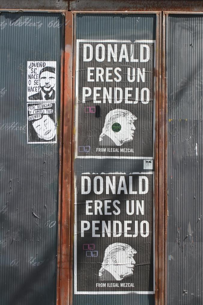 Donald eres un Pendejo, Berlin Street Art, Germany