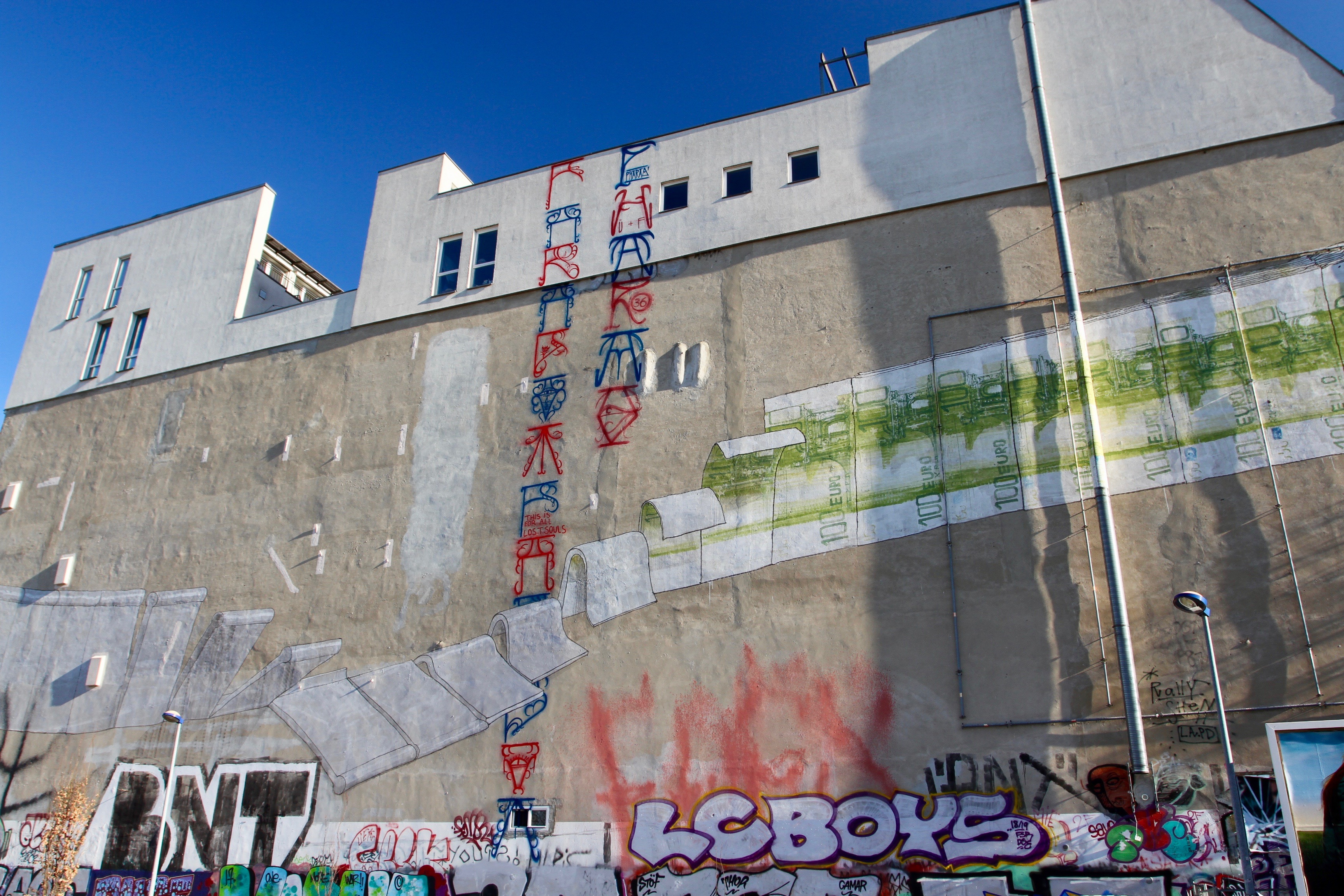Wall by Blu, Berlin Street Art, Germany