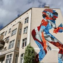 Attack of the 50 Foot Socialite, Berlin Street Art, Germany