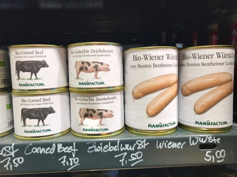 Canned animals, Berlin, Germany