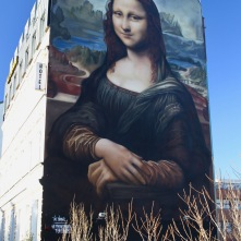 Mona Lisa by Die Dixons, Berlin Street Art, Germany