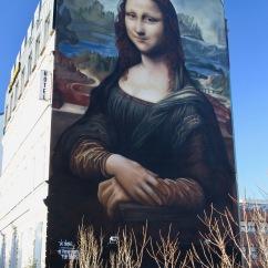 Mona Lisa by Die Dixons, Berlin Street Art, Germany