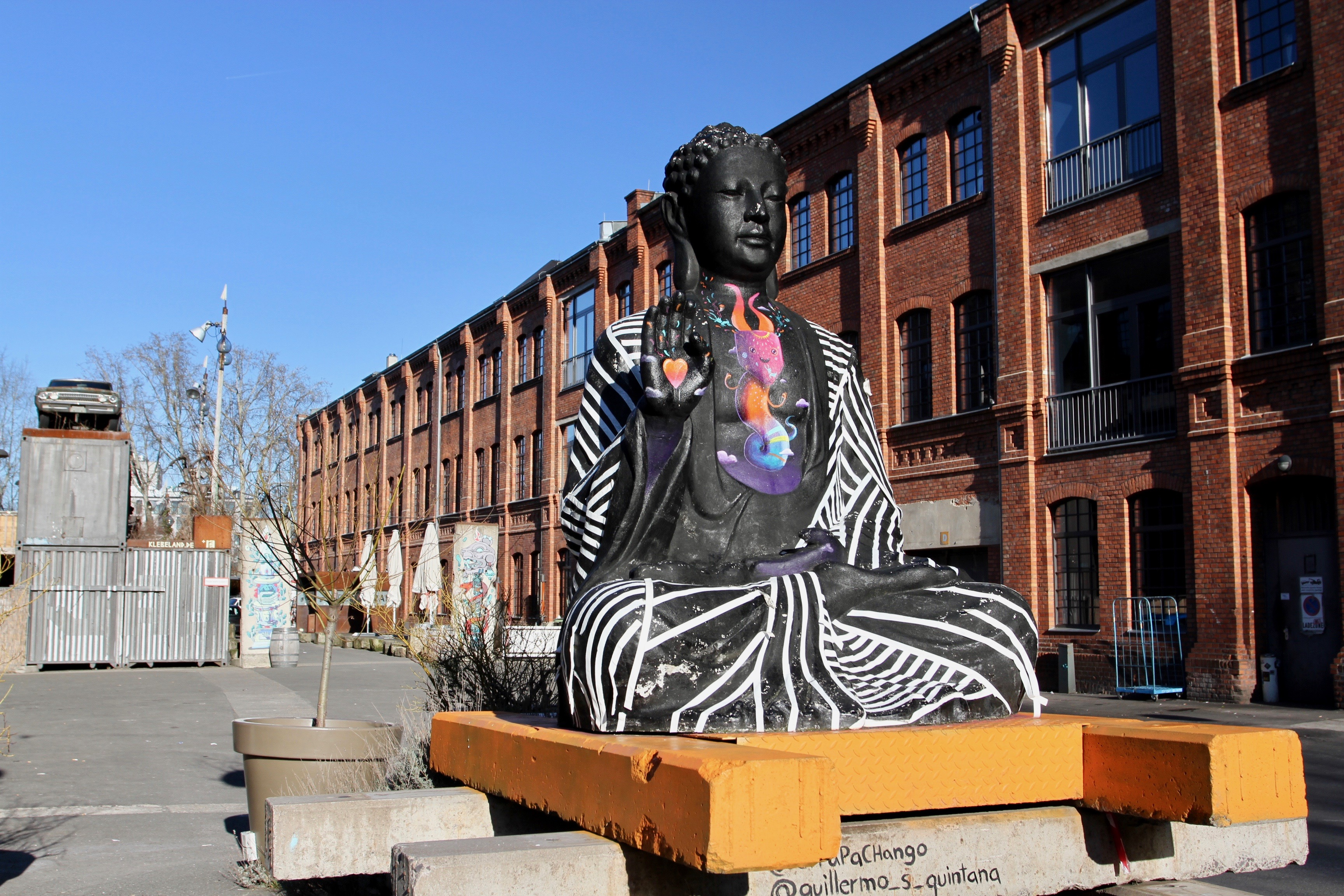 Buddha statue, Berlin, Germany