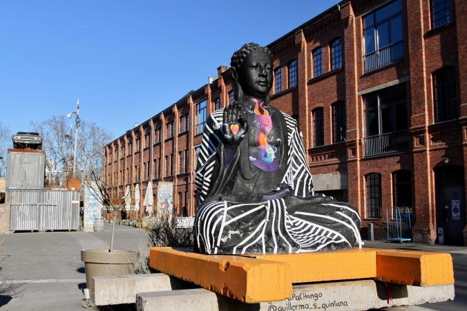 Buddha statue, Berlin, Germany
