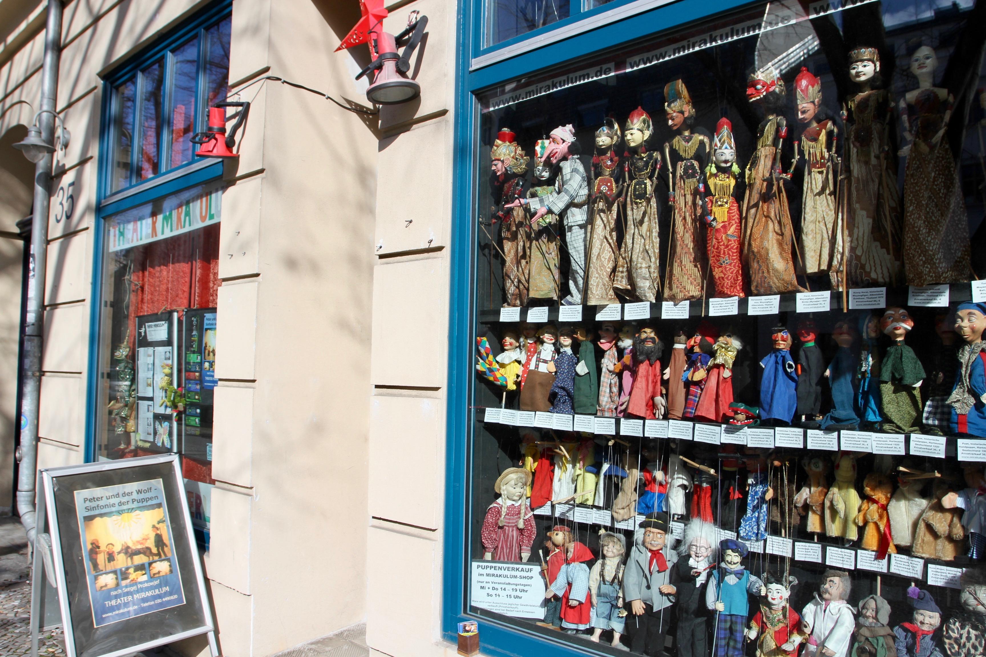Puppet Shop, Berlin, Germany
