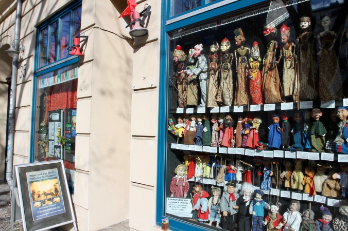 Puppet Shop, Berlin, Germany
