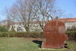 Head statue, Berlin, Germany