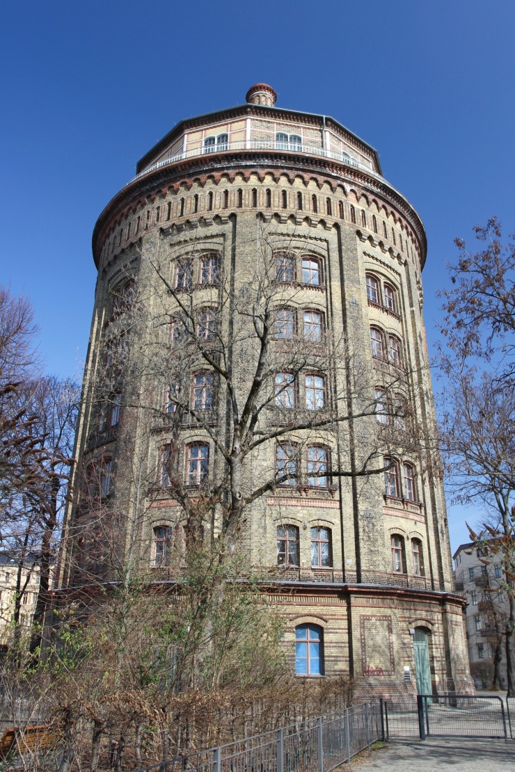 Fat Herrmann watertower, Berlin, Germany