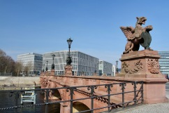 Bridge over River Spree, Berlin, Germany