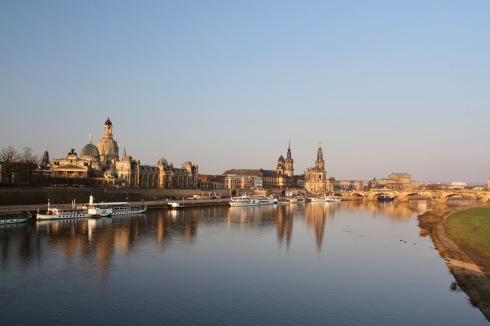 River Elbe, Dresden, Germany