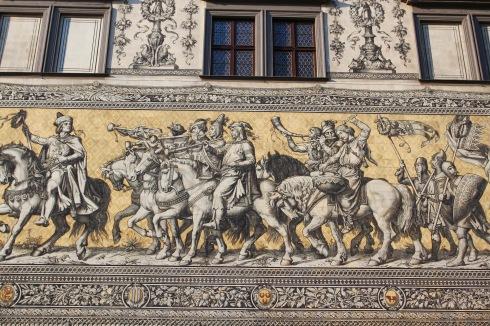 Fürstenzug, Dresden, Germany