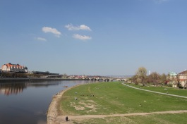 River Elbe, Neustadt, Dresden, Germany