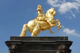 Augustus the Strong statue, Neustadt, Dresden, Germany
