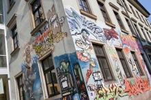 Street Art, Neustadt, Dresden, Germany
