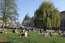James Simon Park, River Spree, Berlin