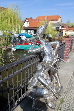 Lutki in Lübbenau, Spreewald, Germany