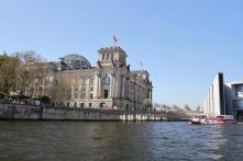 Reichstag, River Spree, Berlin