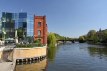 Alt Moabit, River Spree, Berlin
