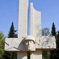 Russian war grave, Lübben, Spreewald, Germany