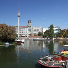 Spittelmarkt, River Spree, Berlin