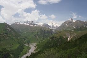 Caucasus Mountains, Georgian Military Highway, Georgia