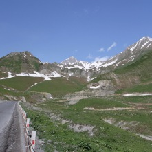 Caucasus Mountains, Georgian Military Highway, Georgia