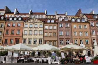 Old Town, Rynek Starego Miasta, Warsaw, Poland