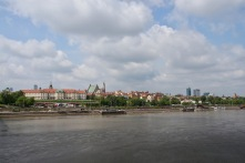 Vistula River, Warsaw, Poland