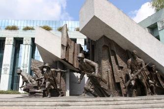Memorial to the Warsaw Uprising, Warsaw, Poland