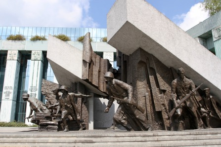 Memorial to the Warsaw Uprising, Warsaw, Poland