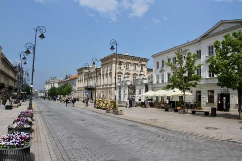 Krakowskie Przedmieście, Warsaw, Poland