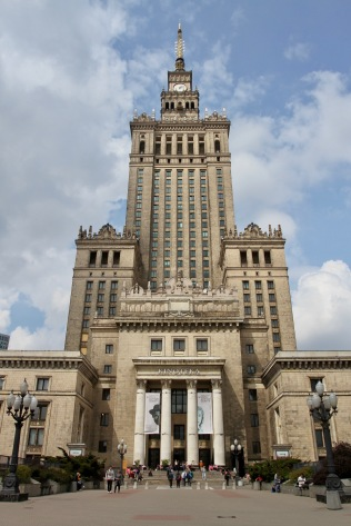 Palace of Culture and Science, Warsaw, Poland