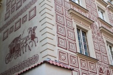 House detail, Old Town, Warsaw, Poland