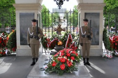 Tomb of the Unknown Soldier, Warsaw, Poland