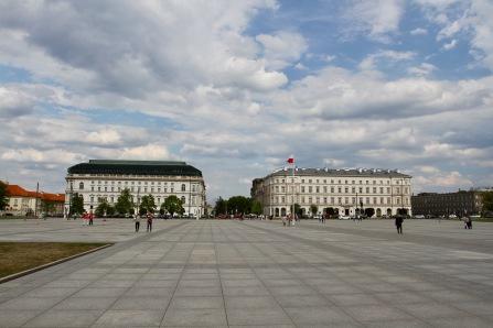 Piłsudski Square, Warsaw, Poland