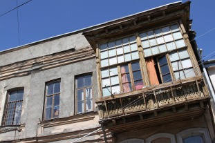 Traditional housing, Tbilisi, Georgia