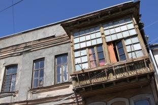 Traditional housing, Tbilisi, Georgia