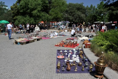 Dry Bridge Market, Tbilisi, Georgia