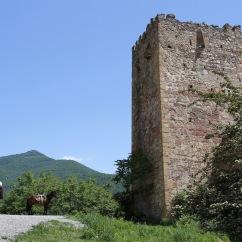 Medieval fortress of Ananuri, Georgian Military Highway, Georgia