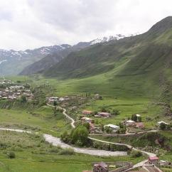 Georgian Military Highway, Kazbegi, Georgia