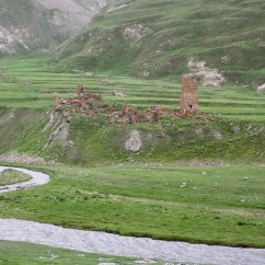 Truso Valley, Kazbegi, Georgia