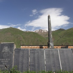 Great Patriotic War Memorial, Sioni village, Kazbegi, Georgia