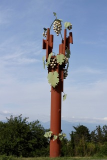Wine memorial, Kakheti, Georgia