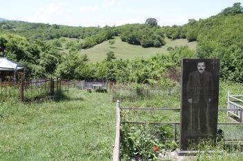 Cemetery, Ikalto Monastery, Kakheti, Georgia