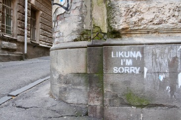 Likuna I'm Sorry, Street Art, Tbilisi, Georgia