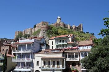 Narikala Fortress, Old Town, Tbilisi, Georgia