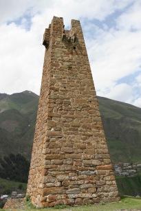 Stepantsminda, Kazbegi region, Caucasus mountains, Georgia